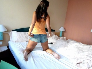 User im Hotel abgeblasen