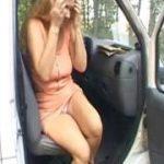 Aus dem Auto gepisst