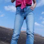 Outdoor Pisse auf meine Blue Jeans