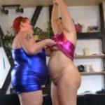 Dicke Lesben machen geile Modenschau 1